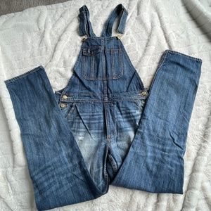 American Eagle Outfitters Boyfriend Overalls